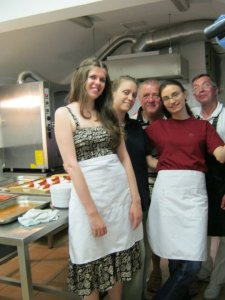 Volunteering in the Soup Kitchen for the Homeless in Budapest